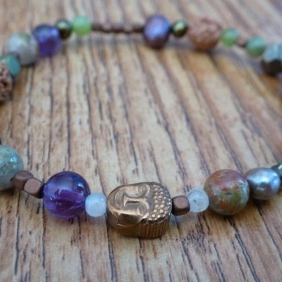 Healing Bead & Rudraksha Bracelet