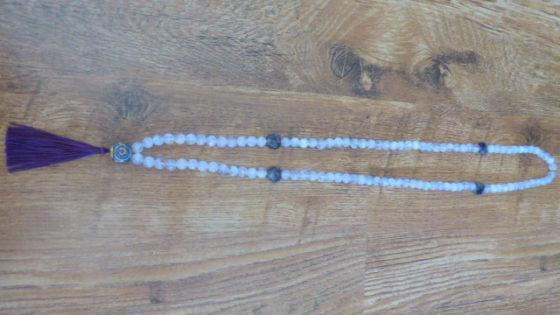Amethyst & Tibetan Bead Mala 3