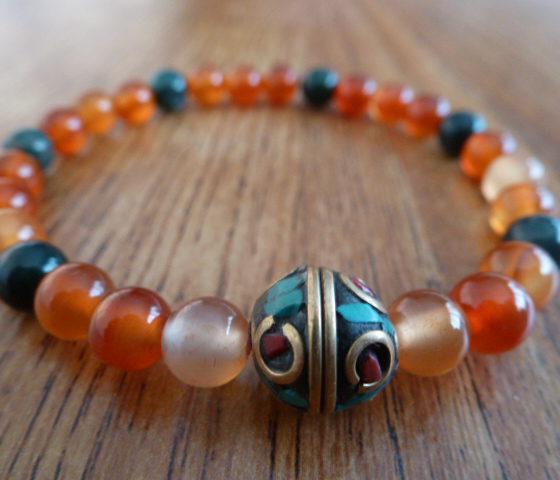 Tibetan Bead Bracelet